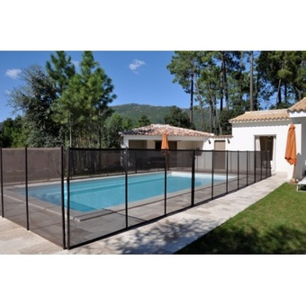 Barri re de s curit aix piscine for Barriere piscine leroy merlin